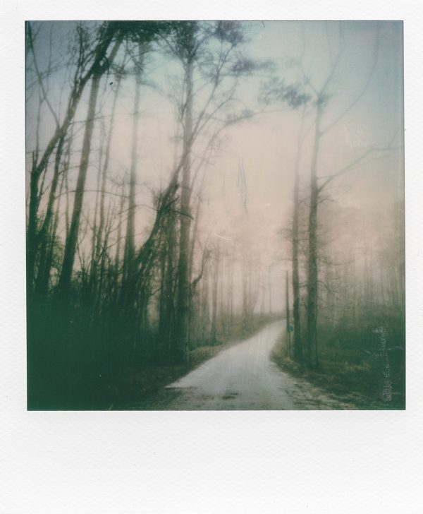 """Choices,"" an artistic polaroid print on matte paper by Scott Asano."